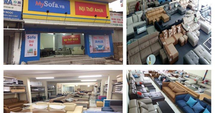 Nơi bán sofa da giá rẻ Hà Nội