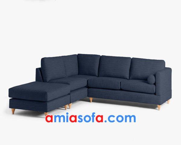 Sofa nỉ góc mini đẹp AmiA SFN0619471